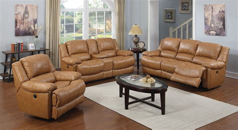 Marshalls Living Room Ls by Marshall Avenue Leather Power Reclining Living Room Set
