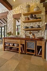 Cucine In Muratura Rustiche  Idee Per La Casa In Campagna