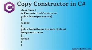 Copy, Constructor, In, C