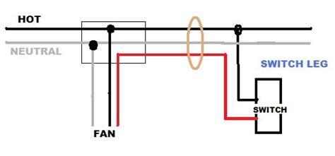 installing  ceiling fan  light   circuit