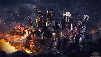 Mandalorian Wallpapers Symbol Wars Star Background 1080p