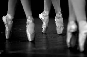 ballet, black and white, dance, dancer, shoes - image ...