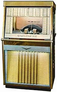 Bergmann Symphonie Musikbox Jukebox Bei Stamann Musikboxen