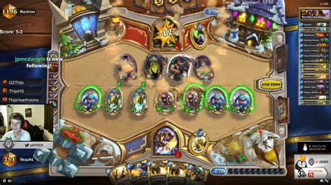 Paladin Murloc Deck Budget by Murloc Otk With Quot The Curator Quot And The Quot Ivory