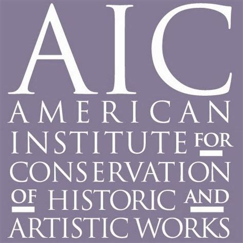 American Institute For Conservation Of Historic And