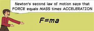 Newton's Second Law of Motion by SciMadeSensible | Pixton ...