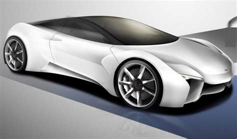 wordlesstech mclaren sports car concept