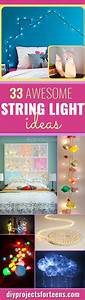 33, Awesome, Diy, String, Light, Ideas