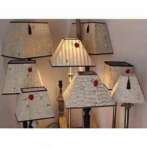 Abat Jour Carré Pour Lampe A Poser Design de maison