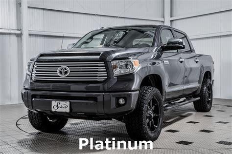 2016 Used Toyota Tundra Platinum Leveled At Country