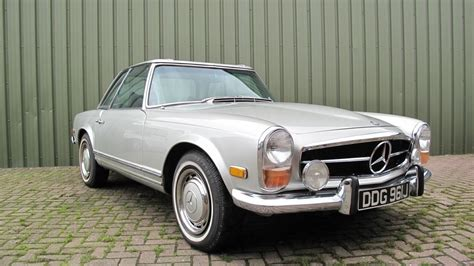 1971 Mercedes 280 Sl Pagoda. We Saw What I Believe Is Kate