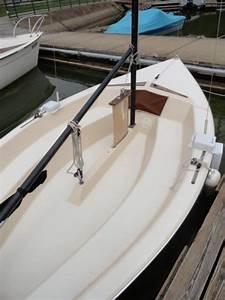 15 U0026 39  Galilee Fiberglass Sailboat With Trailer And Three