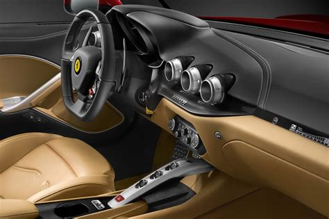 The combination of competitive lines, prominent air flow intakes, elegant figure and revolutionary features, tends to. Ferrari-F12berlinetta-Interior-4 - ForceGT.com
