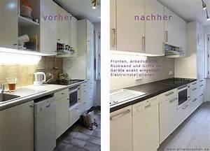 Abschlussleiste Küche Anbringen : k che versch nern vorher nachher haus design ideen ~ Watch28wear.com Haus und Dekorationen