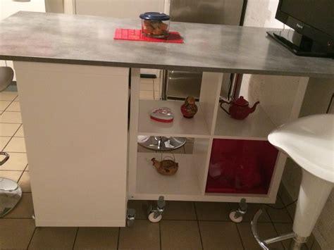 table ilot de cuisine table îlot de la cuisine de corine avec kallax