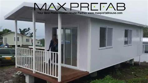 Pc Bungalow Mobile Luxury Prefab Portable Log Cabins