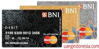 Recently icici bank has removed platinum chip card annual fee and made it lifetime free if you apply for icici platinum chip credit card online. Kartu Bni Platinum Debit - Master Books