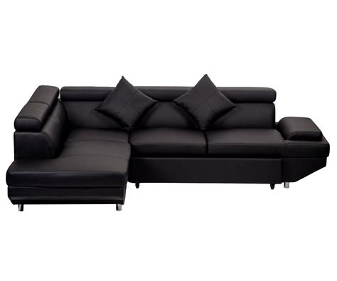 Contemporary Leather Sofa Bed by New Modern Contemporary Leather Sectional Corner Sofa Bed