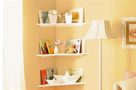 Do It Yourself-diy Floating Corner Shelves
