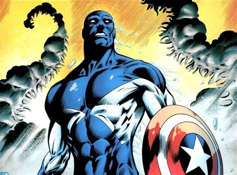 Captain America vs Major Victory (Vance Astro)   Battles
