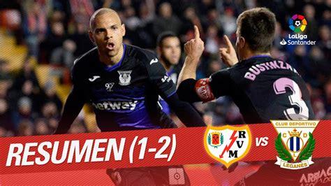Rayo vallecano vs leganes in competition liga adelante. Resumen de Rayo Vallecano vs CD Leganés (1-2) - YouTube