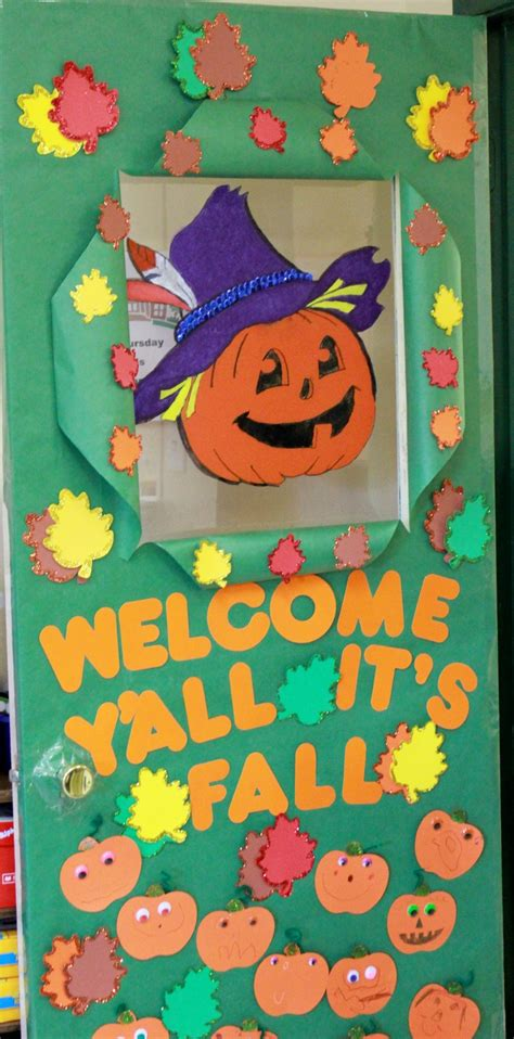 craft idea for preschoolplanet 198 | halloween door decoration idea for kids