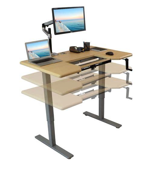 adjustable standing computer desk very interesting adjustable computer desk easier to use