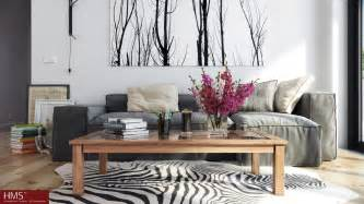 nordic home interiors hoang minh nordic style lounge with wintery print interior design ideas