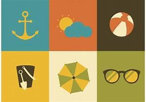 Summer Icon Vectors - Download Free Vector Art, Stock ...