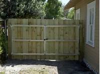 wood fence gates BUILDING A FENCE GATE WOOD » Fencing