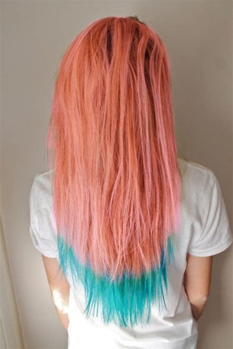 25 Best Ideas About Extreme Hair Colors On Pinterest
