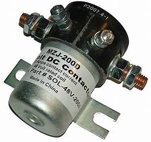 Club Car Solenoids For Ds  Carryall  Xrt  And Precedent