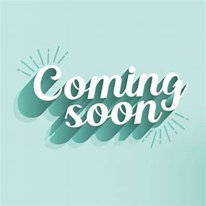 Coming, Soon, Typography, Vector, Design, 621733, Vector, Art, At