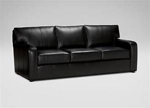Sofa ethan allen rectangular heron coffee table ethan for Leather sectional sofa ethan allen