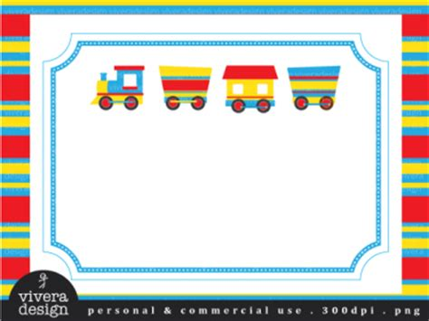 digital clip art  aboard  party train  primary