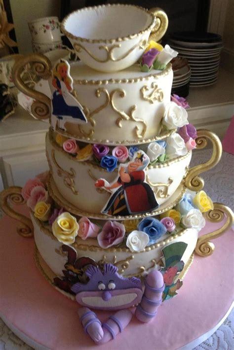 alice  wonderland teacups cake gumpaste flowers teacup