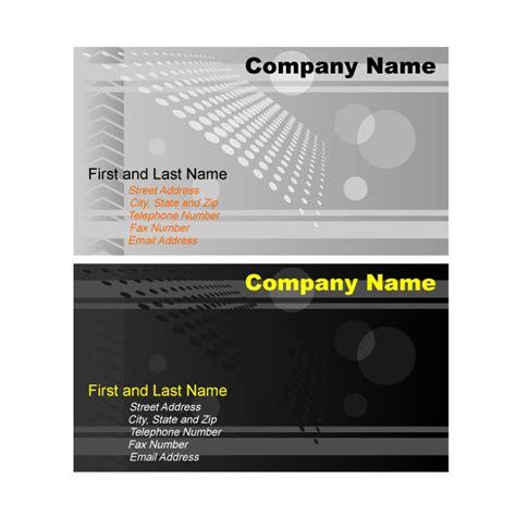 adobe illustrator business card template illustrator business card template graphics at vectorportal
