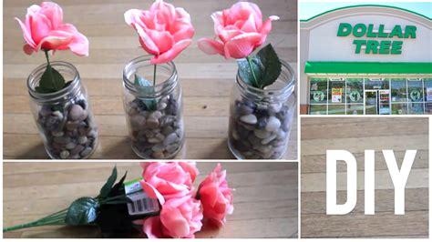 Diy Dollar Tree Craft  Mason Jar Flowers $7 Home Decor