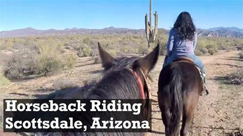 riding horseback arizona