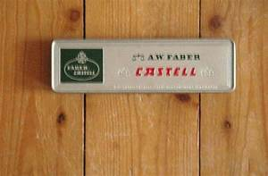 Vintage A W Faber Castell Tin Box From Germany Pencil By Nippes   U20ac5 80  With Images