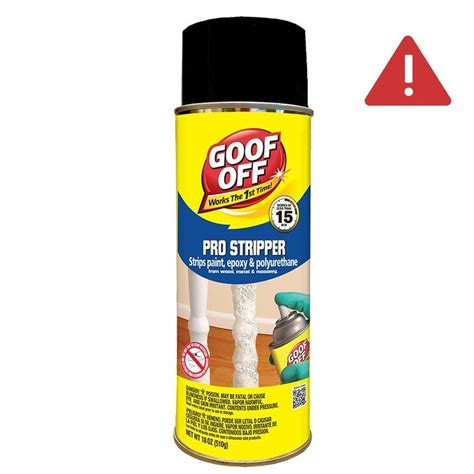 goof   oz spray multi surface paint remover  lowescom