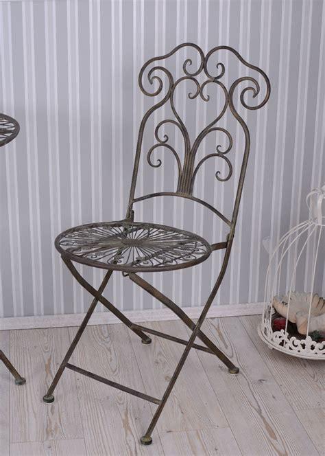 Chaise En Fer Forgé De Jardin chaise de jardin fer forg 201 chaise en m 201 tal jardin shabby