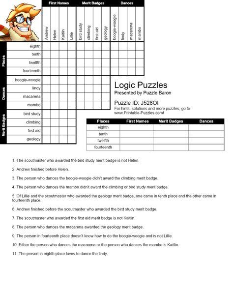 logic problems worksheets checks worksheet
