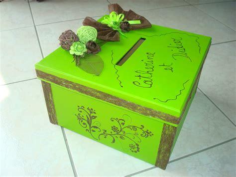 boite urne pour anniversaire le mariage