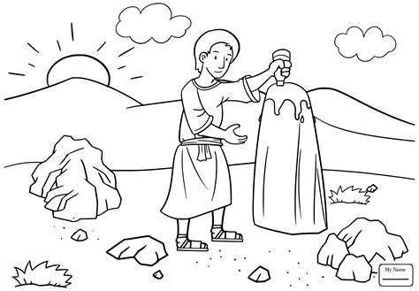 jacob  esau coloring pages printable  coloring books