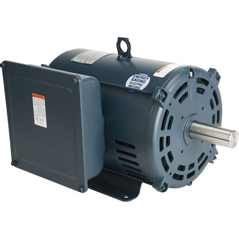 Electric Motor by Leeson Compressor Duty Electric Motor 7 5 Hp 1750 Rpm