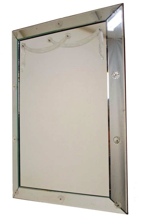 large deco mirror for sale at 1stdibs