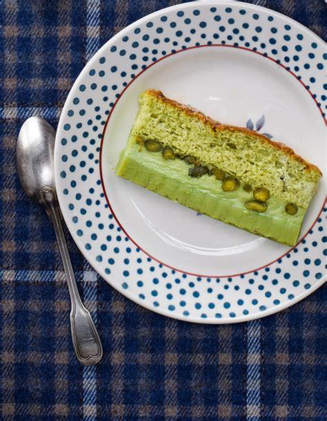 recette cuisine gateau gâteau magique à la pistache pour 6 personnes recettes