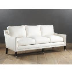 griffin sofa with pewter nailhead trim