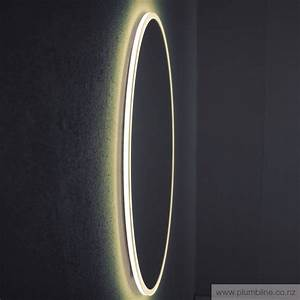 eclisse 800 round led mirror bathroom furniture bathroom With led miroir